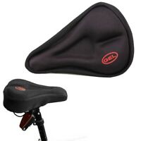 E0X1 Soft Saddle Pad Cushion Cover Gel Silicone Seat For Mountain New Bike