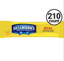 Hellmann's Mayonnaise To Go 210 Count Individual Packets