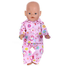 1set Doll Clothes Wearfor 43cm Baby Born zapf (only sell clothes ) MG-525