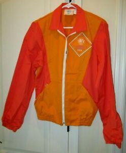 Vtg Levi's Olympic Promo Jacket Shirt Staff Mens 1984 OLYMPIAD Los Angeles, Sz M