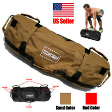 Exercise Sandbag up to 60 lbs Inner and Outer Bags 7 Handles