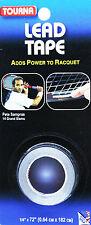 Tourna Lead Tape piombo blister 1 pz ad alta densità per customizzazioni precise