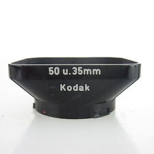 Original Kodak 50 u. 35mm black Gegenlichtblende / Lens Hood (28)