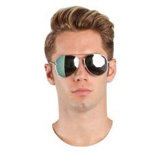 Sunglasses Large Aviator Mirror Silver 100 UV Lenses Rb3025 58mm