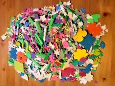 Huge Lot of Assorted 3D Self-Adhesive Craft Foam Stickers Shapes, Flowers & more