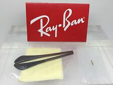 Authentic RayBan RB 3174 Replacement Temple (Arm) Tips for Brown Ray-Ban