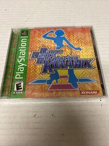 Dance Dance Revolution Konamix (Sony PlayStation 1, 2002) New Sealed!!!