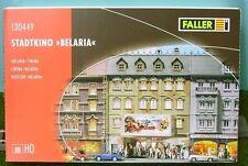 FALLER HO SCALE ~ CINEMA 'BELARIA' ~ PLASTIC MODEL KIT # 130449