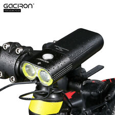 GACIRON V9D - 1600 USB Rechargeable Bicycle Front Flashlight with Remote Switch