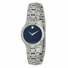 Movado 0606370 Women's MOVADO COLLECTION Silver-Tone Quartz Watch