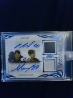 Leaf Paragon Dual Signatures PATCH Pavel Bure/Alexander Mogilny 1/1 Nucks Devil