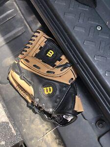 Wilson 10 Inch Baseball Ez Catch Left Hand Thrower  AD425 D10
