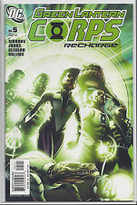 GREEN LANTERN CORPS RECHARGE #5 NEAR MINT