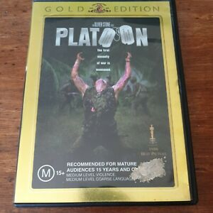 Platoon Special Edition DVD Gold Edition R4 Like New! FREE POST
