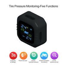 Waterproof TPMS Motorcycle Tire Pressure Monitoring System 2External Sensor S2W3