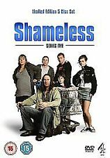 Shameless - Series 5 - Complete (DVD, 2008, 5-Disc Set)new and sealed freepsot