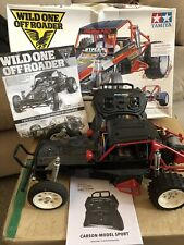 tamiya wild one Re Release Includes Radio Gear And Battery