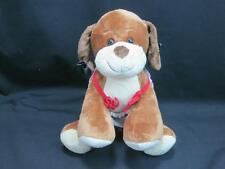 BUILD A BEAR ASTHMA ALLERGY FRIENDLY PROOF TOY PUPPY DOG PLUSH HALTER TOP BOWS