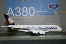 """Dragon Wings 1:400 Singapore Airlines Airbus A380-800 """"First to Fly"""" (55880B)"""