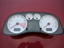 PEUGEOT 307cc 307 CLOCKS GAUGES INSTRUMENT CLUSTER 2.0 PETROL