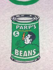 Mini Boden Boys 7-8 Y Gray Parp's Beans Design Shirt EUC 100% Cotton Macau