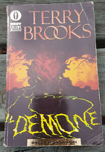 Terry Brooks Il Demone Used Paperback- Cure Myotonic Dystrophy CHARITY SALE