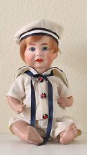 K & R  S & H  116 A  38 cm  15,2 Inch  Poupée Ancienne Reproduction Antique Doll