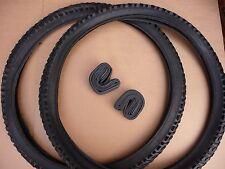 "Pair 24"" Junior Mountain Bike Tyres MTB ATB Bike Bicycle 24x2.00 (52-507)"