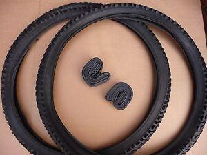 "Pair 24"" Junior Mountain Bike Tyres MTB ATB Bike Bicycle 24x1.95 (52-507)"
