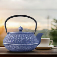 Lilac Blossom Cast Iron Teapot with Infuser | Japanese Non Toxic Floral Teapot