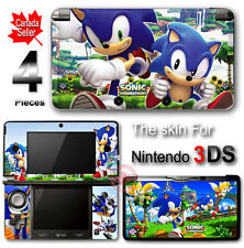 Sonic Amazing NEW SKIN VINYL STICKER DECAL COVER #2 for Nintendo 3DS
