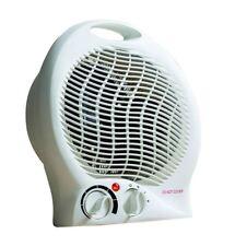 Daewoo Electric Fan Heater 2KW Portable Floor Hot Cold Home Office Caravan Small