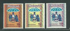 Malaysia Scott # 98-100 MNH Introduction of Social Security System