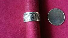 Ring 925 Sterling Silver *Size 7*G350 Beautifu Horoscope Astrology Leo Toe Band