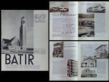 BATIR N°52 1937 ANTWERPEN LIMBOURG HASSELT ANVERS BRASSCHAAT WATERSCHEI TURNHOUT
