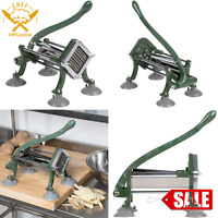 """3/8"""" French Fry Potato Cutter Commercial Restaurant Pub Countertop Slicer Dicer"""