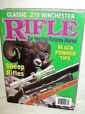 RIFLE 9/10 1994~WINCHESTER 270 & 1886, MANN-NIEDNER BULLET~BLACK POWDER GUIDE