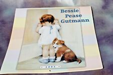 Bessie Pease Gutmann Illustrated Calendar, 2001 Free Shipping!