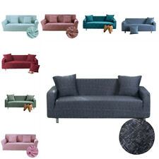 1-4 Seater Stretch Sofa Cover Slipcover Couch Covers Elastic Protector Decor
