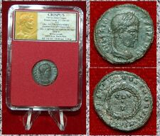 Ancient Roman Empire Coin Of CRISPUS Laurel Wreath On reverse VOT V Siscia Mint