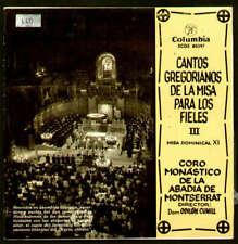 """Coro Monastico De La Abadia De Monsterrat*, Dom O 7"""" EP Vinyl Schallplatte 38676"""