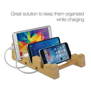 SIIG Bamboo Multi-Function Tablet & Laptop Stand For Macbook/PC
