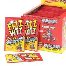 Fizz Wizz Strawberry flavor Popping Candy cola  (10 packets) fun sweets 10 packs