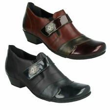 Block Synthetic Leather Formal Boots for Women