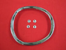 FORD FALCON XA XB XC FUEL PETROL CAP SURROUND RING WITH SPEED NUTS NEW