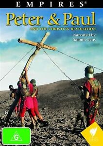 Empires - Peter & Paul And The Christian Revolution (DVD) Brand new all region!