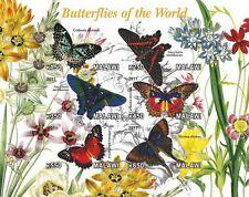 ** Butterflies - s/s  Malawi 2011  mint MNH IMPERF  #C091