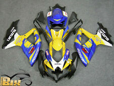 CARÉNAGE ABS SUZUKI GSX R 600/750 08/09/10 DESIGN ENGRENAGE JAUNE