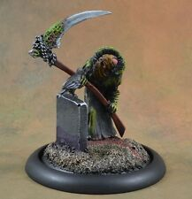 Painted Scibor miniature, Death, resin, skeleton, D&D character