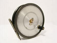 """VINTAGE Antico Hardy UNIQUA 3 ⅝ """"in lega trota pesca con mulinello-Spitfire tamburi."""